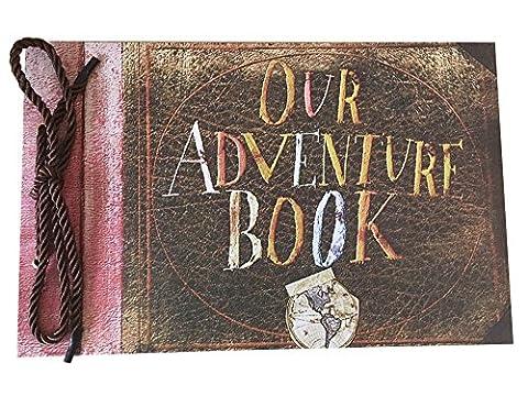 Debon Photoalbum Scrapbook Notre aventure livre film Pixar jusqu'à 40feuilles