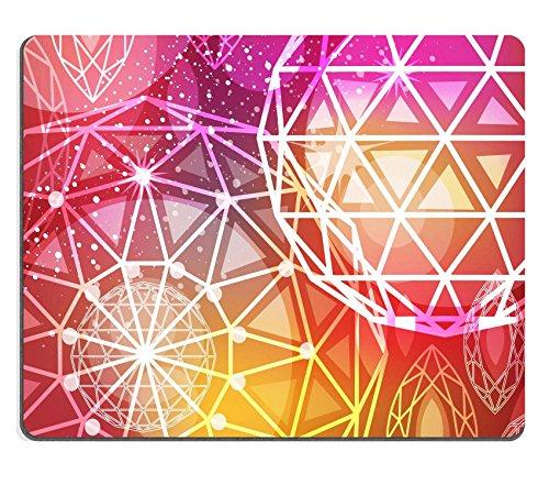 Gomma Naturale Luxlady Gaming Mousepad astratto sfondo rosso con diamanti taglio lineare immagine ID 26040712 - Taglio Mats Immagini