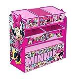 Global Industry 42175-S Meuble de Rangement Minnie Mouse, Rose
