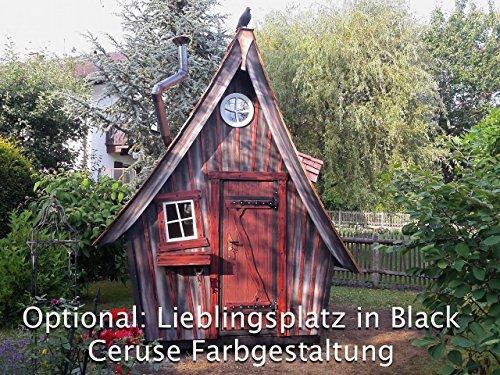 Gartenhaus Lieblingsplatz Vollausstattung ( Angebot nur gültig für Österreich ) (Black Ceruse)