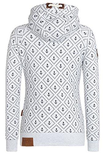 Naketano Female Zipped Jacket Jennifer Hart IV Amazing Grey Melange
