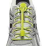 LOCK LACES - Cordones elásticos sin nudo, para zapatillas - 1 par