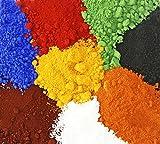 Eisenoxid rot 1 Kg Farbpigment für Beton + Wandfarb