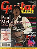 Guitar Club 7 Luglio-agosto 2001 Paul McCartney-Al DiMeola-Eddie Van Halen-Dave Mustaine