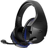 HyperX HX-HSCSW-BK Cloud Stinger Wireless - Kabelgebundenes Gaming Kopfhörer für PS4, schwarz