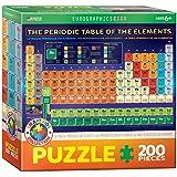 Eurographics 6200-1001 - La tabla periódica de los elementos - puzzle para niños 200 piezas