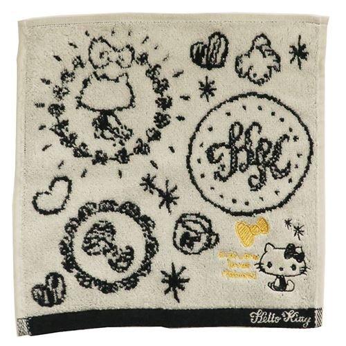 Hello Kitty jacquard handkerchief -
