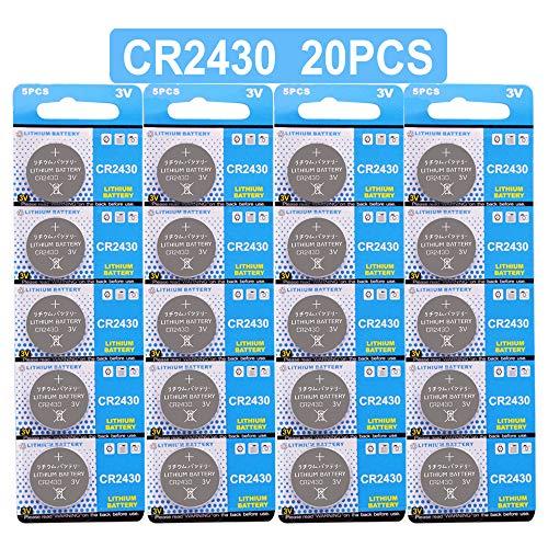 Lithium Knopfzelle Elektro CR 2430 Lithium ()