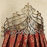Prinzessin betthimmel,Europäischen retro-netting vorhänge schmiedeeisen kopfteil hochzeit vorhang frame moskitonetz-Rot