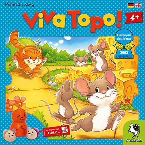 Preisvergleich Produktbild Pegasus Spiele 66003G - Viva Topo Kinderspiel des Jahres 2003