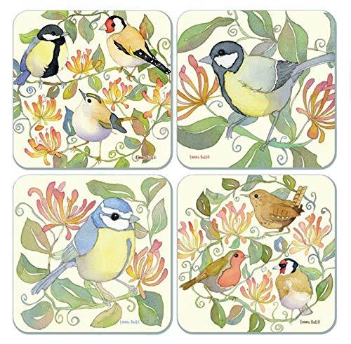 emma-ball-sottobicchierigarden-birds-assortiti-set-di-4
