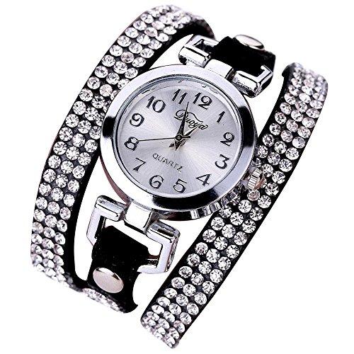 Sunnywill Frauen Mädchen Damen Schöne Mode Design Luxus Anhänger Uhren Armbanduhr für Weibliche
