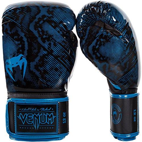Venum Fusion Guanti da boxe, unisex, Fusion, Cyan/Blue, 12 oz