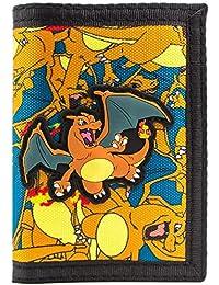 Cartera de Pokemon Charizard No.6 Fuego Naranja