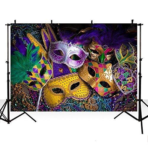 mehofoto Foto Backgroud Halloween Maske Dance Party Dekoration Hintergründe für die Fotografie 7ftx5ft