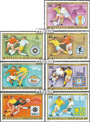 Prophila Collection Mongolei 1148-1154 (kompl.Ausg.) 1978 Fußball-WM ´78, Argentinien (Briefmarken für Sammler) Fußball