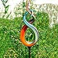 Pötschke Ambiente Glaskunst-Stecker High Fidelity inkl. Eisenstab von Pötschke Ambiente bei Du und dein Garten