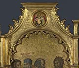 Das Museum Outlet–Giovanni Dal Ponte–Saint Michael–Rondell oben links Panel, gespannte Leinwand Galerie verpackt. 40,6x 50,8cm