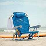 Pineapple 2020 Tommy Bahama Backpack Beach Folding Chair Blue stripes Flower