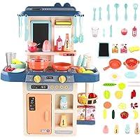 Symiu Cuisine Enfant Mon Petit Chef Jeu de Rôle 42 Pièce pour Les avec Lumière et Son Cadeaux de Enfant 3 4 5 Ans…