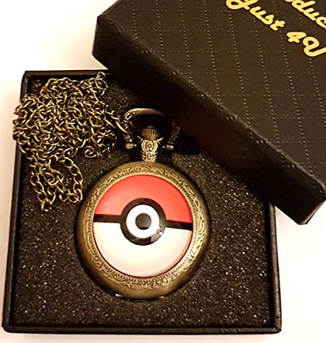 pokemon-logo-quartz-pocket-watch-necklace-antique-bronze-effect-gift-boxed-with-free-spare-battery