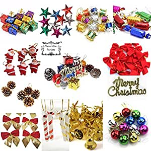 Buy decorative buckets pvc mix christmas decorations tree - Buy christmas decorations online india ...