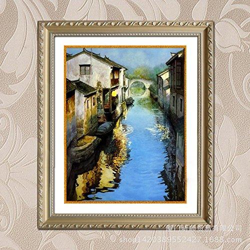 Pittura decorativa paesaggio dipinto ad olio cinese interno dipinto da decorazione del salone,50 * 70
