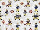 Baumwolljersey Feuerwehrmann Sam 2, Meterware ab 0,5 m/Top-Qualität/Öko-Tex 100 / Stoffe Hemmers Exklusiv für Baumwolljersey Feuerwehrmann Sam 2, Meterware ab 0,5 m/Top-Qualität/Öko-Tex 100 / Stoffe Hemmers Exklusiv