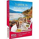 Emozione3 - Cofanetto Regalo - 3 Giorni da ASSAPORARE - 655 soggiorni di 2 Notti, 2 colazioni e 2 cene in agriturismi e Hotel
