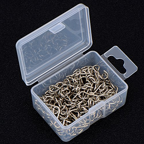 Old 100 Pieces Mini S Hooks Connectors S Shaped Wire Hook With Storage Box For D