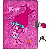 Stylex 51117 Trolls Plüsch-Tagebuch mit Schloss, Design
