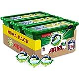 Ariel Pods Allin1 Detergente en Cápsulas para Lavadora, Original, 114 Lavados (3 x 28)