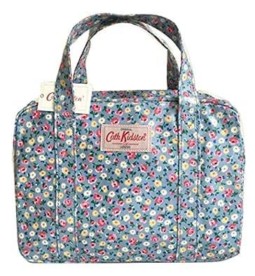 Cath Kidston Mini Zip Bag Little Flower Buds Sky Blue Amazon.co.uk Shoes U0026 Bags