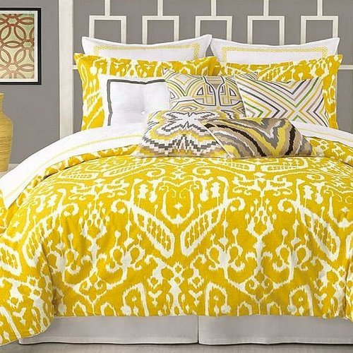 trina-turk-palm-spring-block-400t-cotton-white-chartreuse-euro-sham-new-by-trina-turk