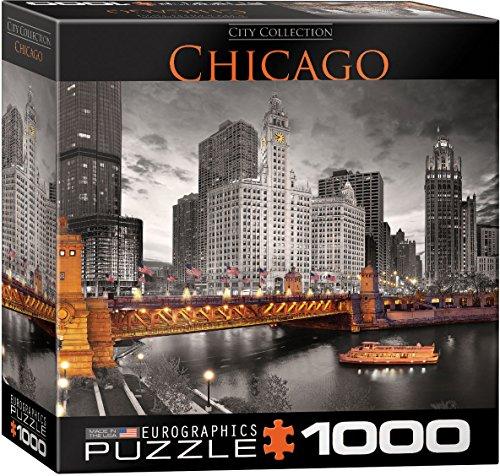 Eurographics 20.320-1.671,3cm Chicago Michigan Avenue Puzzle (1000Teile)
