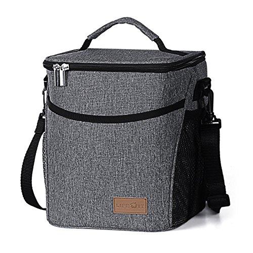 Lifewit Lunchtasche Mittagessen Tasche Thermotasche Kühltasche Isoliertasche Picknicktasche für Lebensmitteltransport 9L - Mittagessen-tasche Sport