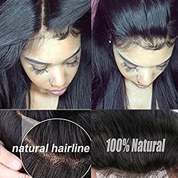 Natural Black Virgin Indian Human Hair Wig Silk Top Base Full Lacelace Wigs With Baby Hair Real Curly Wavy Bob Remy Hot Glueless Long Thick Wig 5