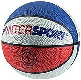 Bask-Ball Mini INTERSPORT - rot/weiss/blau, Größe #:1