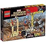 LEGO - Rhino y Sandman: equipo de Supervillanos, multicolor (76037)