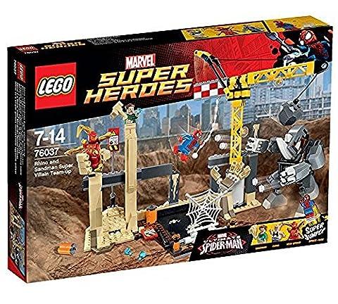 LEGO Marvel Super Heroes 76037 - , Rhino und Sandman - Allianz der Superschurken