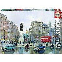 Educa Borrás - Puzzle London Charing Cross, Alexander Chen, 3000 piezas (16779.0)