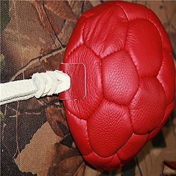 Myyxt Jouets de crabot de bille d'animaux familiers Chiot mâcher la formation Boules de récipient de nourriture Fait de cuir , A