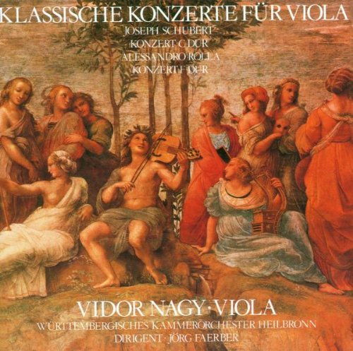 Klassische Konzerte für Viola