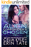 Alien Commander's Chosen (Scifi Alien Romance) (English Edition)