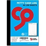 Cherry Petty Cash Log Book A5 100pages 80gsm