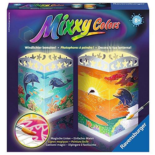 Ravensburger 29410 - Mixxy Colors Windlichter 'Süße Delphine'