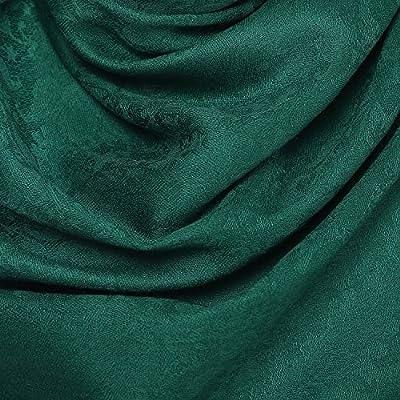 Romantic Scarves - Pashtush Women's Fine Wool Stole, Soft and Warm, Paisley Design, Jacquard Weave, Luxury Pashmina Scarf