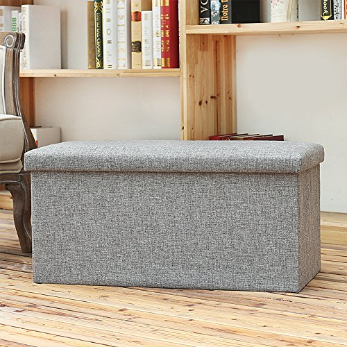 ubliss-16-inch-polyester-foldable-storage-ottoman-foot-rest-stool-seat-versatile-space-saving-with-s