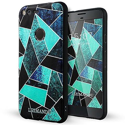 Google Pixel XL hülle,Lizimandu TPU 3D Handyhülle Muster Case Cover