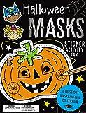 Halloween Masks Sticker Activity Fun